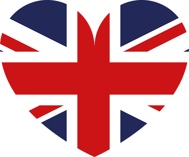 heart-shaped union jack