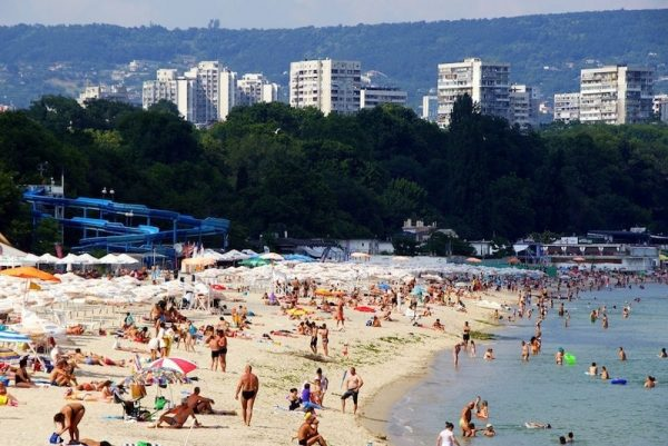 Photo of Varna Seaside Gardens, a public beach