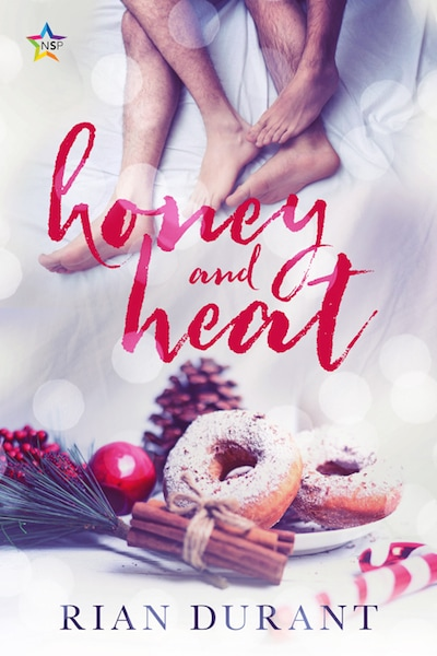 book cover for Honey and Heat by Rian Durrant