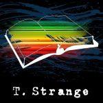 t strange logo