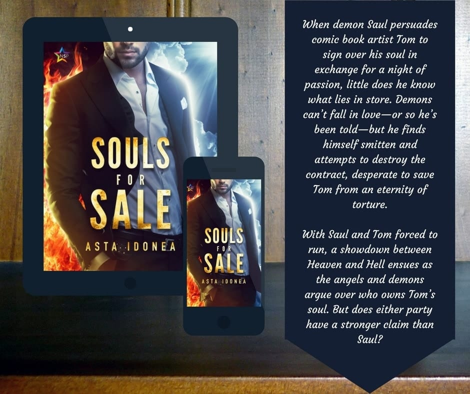 Souls for Sale book cover and blurb