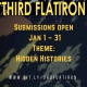 "Submission Call: Third Flatiron wants spec fic for ""Hidden Histories"""
