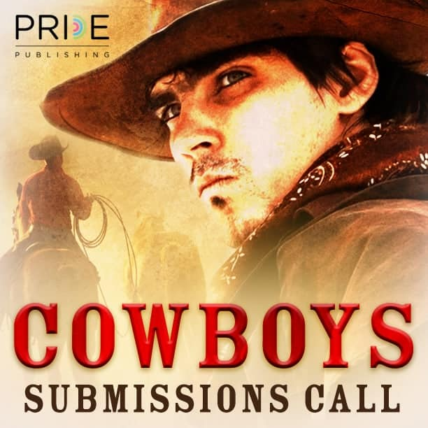 promotional image for Pride Publlishing Cowboys and Western line
