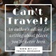 Can't travel? Tips for writing about places you've never been