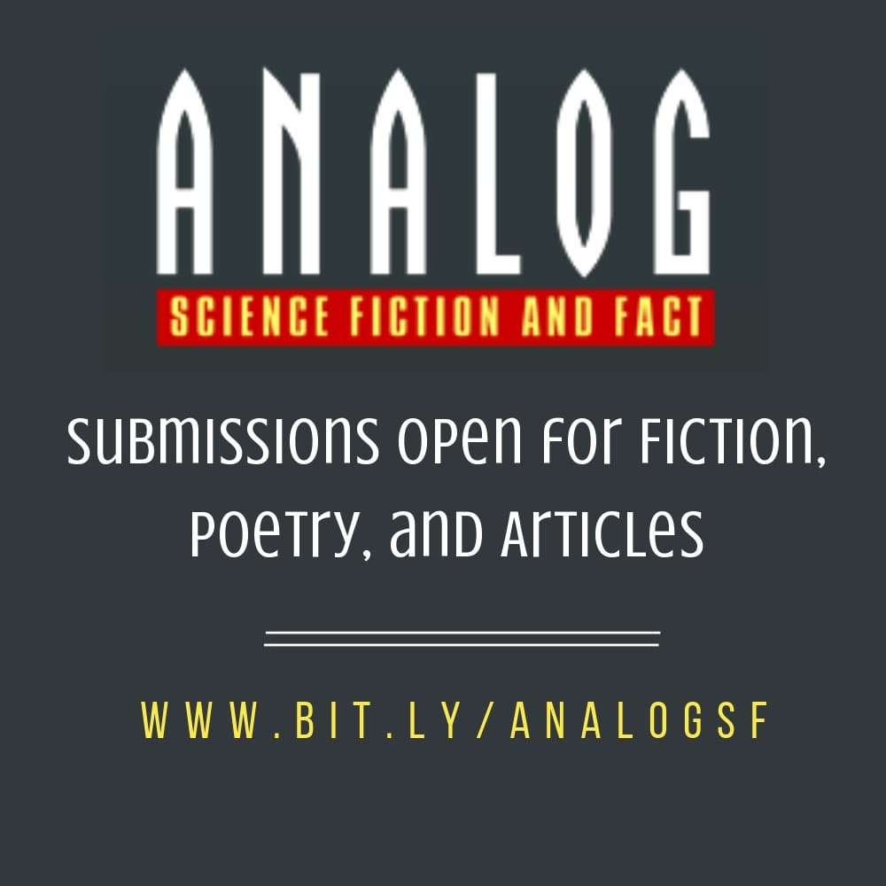 Submission Call: Analog Science Fiction and Fact want
